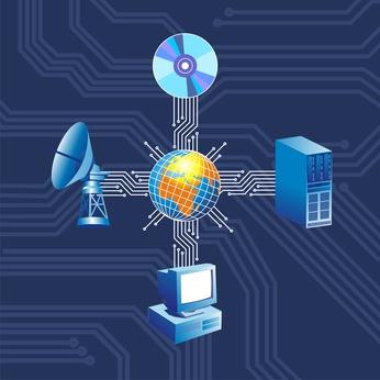 Las instrucciones para configurar una red corporativa
