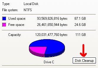 Cómo liberar espacio en disco duro